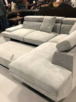 Price Online‼️Sectional Sofa w/Sleeper and Pillows • Delivery • Assembly • FREE Financing ‼️Same as cash for Sale in Nellis Air Force Base,  NV