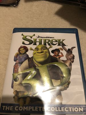 Shrek collectibles 4DVD series for Sale in Flower Mound, TX
