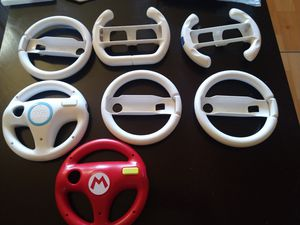 Nintendo Wii and Wii U steering wheels for Sale in San Diego, CA