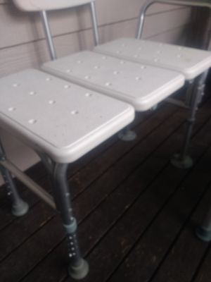 Shower bench and chair for Sale in Tacoma, WA
