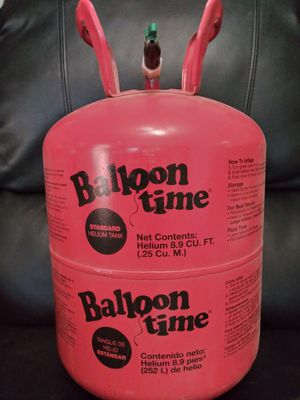 Party balloon tank for Sale in Kingsburg, CA