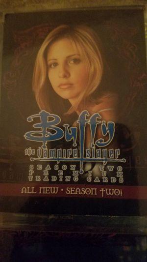 Buffy the Vampire Slayer trading cards season 2 for Sale in Springfield, VA