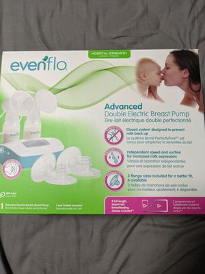 Evenflo Advanced Double Electric Breast Pump for Sale in San Jose, CA