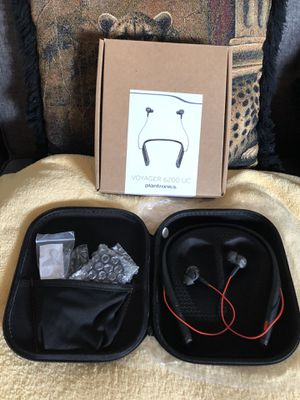 Plantronics Voyager 6200 UC headset for Sale in Las Vegas, NV