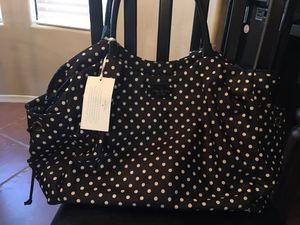 Brand new with tags KATE SPADE polka dot diaper bag for Sale in Laveen Village, AZ