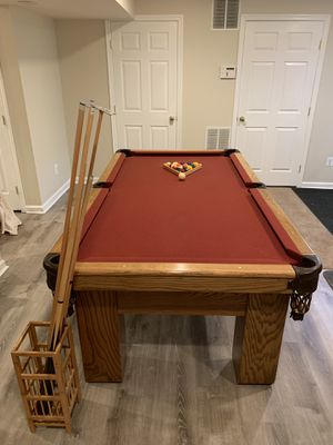 Real Slate Pool Table for Sale in Montgomery Village, MD
