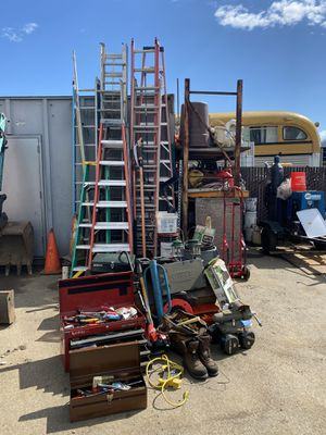 Tools and ladders and other stuff, Weights, Lanterns for Sale in San Jose, CA