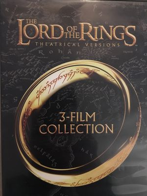 Lord of the Rings 3-Film Collection DVD for Sale in West Valley City, UT