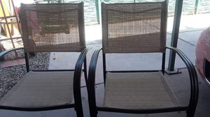 New Hampton Bay Outdoor Patio Chairs (2) ☆Pick up only☆ for Sale in Phoenix, AZ