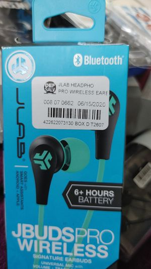JLAB JBUDSPRO WIRELESS BLUETOOTH EARBUDS for Sale in New Haven, CT