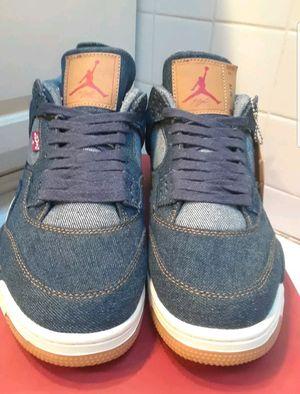 Air Jordan 4 Retro NRG Brand: Jordan Manufacturer SKU: AO2571 401 Colorway: DENIM/DENIM-SAIL-GAME RED Nickname: Levi's size 10 for Sale in Miami, FL