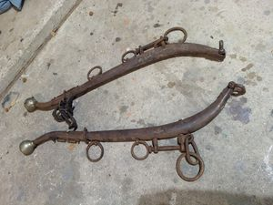 Old Horse harness/hitch items for Sale in Midland, TX