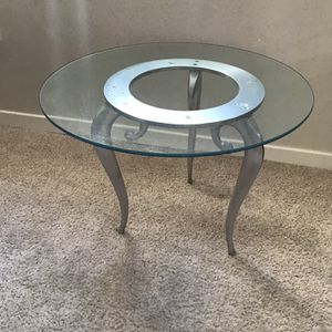 Glass Round Table for Sale in Golden, CO