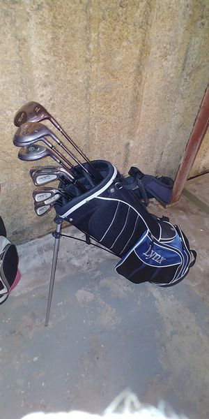 Full Set Lady Lynx Crystal Cat Golf Clubs w Carry Bag for Sale in Georgetown, TX
