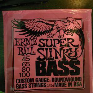 Super Slinky Bass Strings for Sale in Stuart, FL