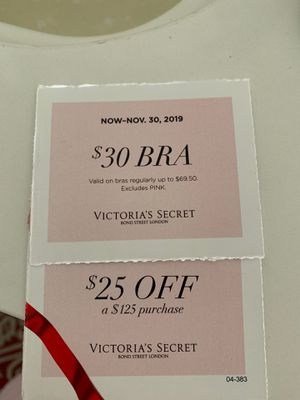 Victoria Secret Coupons!! Free for Sale in Pomona, CA