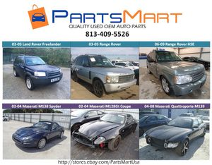 Land Rover Range Rover Maserati USED OEM PARTS for Sale in Tampa, FL