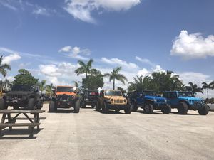 Jeep lift kits tires and wheels parts for Sale in Miami, FL