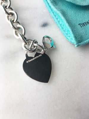 Tiffany and Co. Heart Tag Charm Bracelet for Sale in League City, TX