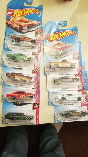 9 Hot Wheel flame Editions for Sale in Phoenix, AZ