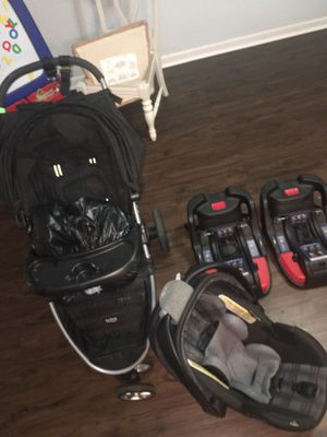Britax B Agile Travel System with 2 car seat bases for Sale in Pembroke Pines, FL