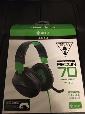 New Xbox one headset turtle beaches for Sale in Lancaster, TX