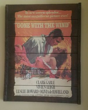 Gone With the Wind movie poster for Sale in Marengo, OH