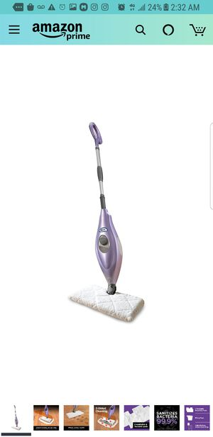 Shark Steam Pocket Mop Hard Floor Cleaner with Swivel Steering XL Water Tank (S3501), 18 Feet Power cord for Sale in City of Industry, CA