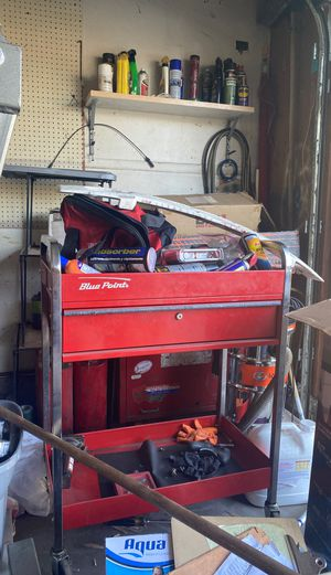 Blu point rolling tool cart for Sale in San Jacinto, CA