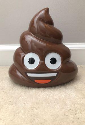 Poop emoji piggy bank for Sale in Kennesaw, GA
