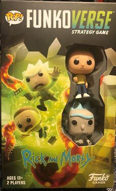 FUNKOVERSE Strategy Game Rick And Morty for Sale in Rensselaer, NY