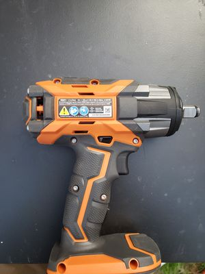 $80 firm nothing less Brand new 18 volts 1/2 in Ridgid Brushless impact wrench tool no battery for Sale in Washington, DC