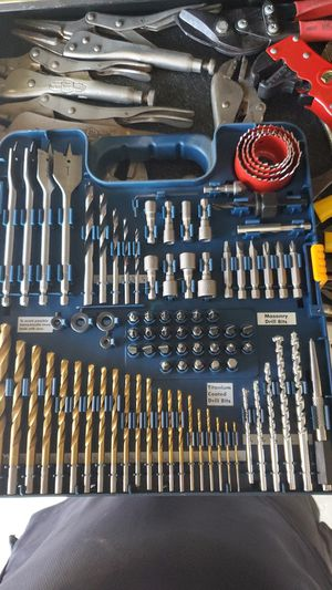 Ryobi 90 Pcs drilling and driving accessory kit for Sale in San Diego, CA