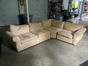 Super comfy pottery barn sectional for Sale in Issaquah, WA