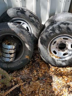 F250 Rims And Tires for Sale in Daytona Beach,  FL