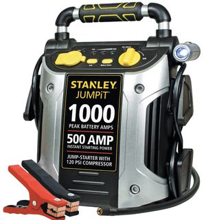 STANLEY 1000/500 Amp Jump Starter w/120 PSI Compressor for Sale in Pompano Beach, FL