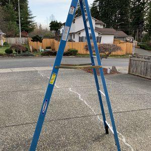 Werner 8ft Fiberglass Ladder Brand New for Sale in Lynnwood, WA