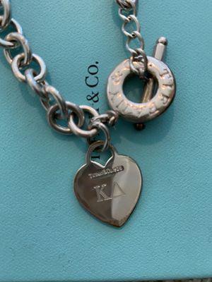"Tiffany & Co. Sorority ""KD"" engraved Necklace for Sale in Winter Garden, FL"