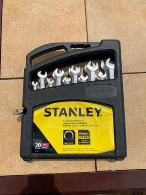 Stanley 20pc Wrench Set for Sale in Santee, CA