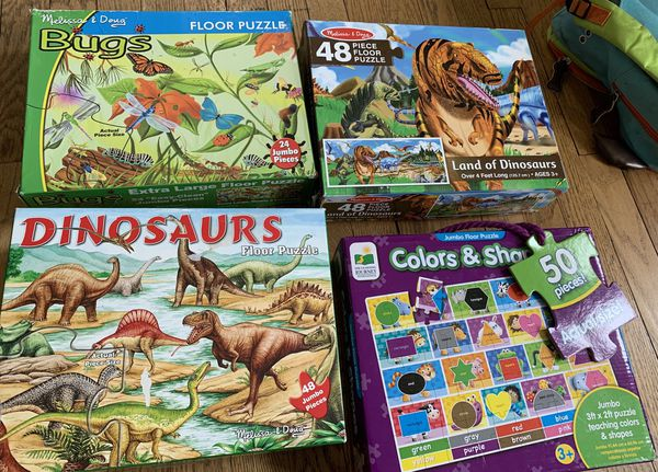 Dinosaur and Bug Puzzles - Melissa and Doug