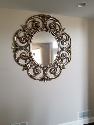 Bronze wall mirror for Sale in Frankfort, IL