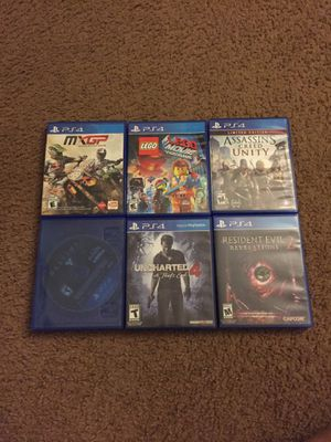 6 PS4 GAMES for Sale in Severna Park, MD