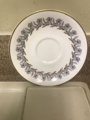 Antique ROYAL ALBERT Bone China saucers for Sale in Nashville, TN
