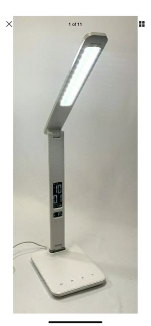 OttLite Executive Desk Lamp with 2.1A USB Charging Port, U13A, white # 5743 for Sale in Costa Mesa, CA