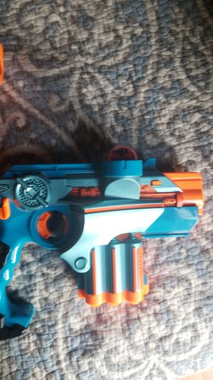 Nerf lazer tag guns worth 100 brand new for 2 for Sale in Albuquerque, NM