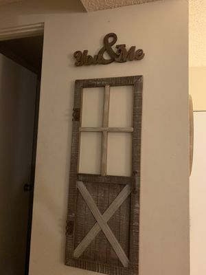 Hobby lobby wall decor farm rustic for Sale in Whittier, CA