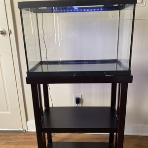 20 Gallon Fish Tank & Stand for Sale in Annandale, VA
