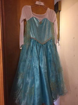 Frozen Elsa Custome size 7/8 for Sale in Chicago, IL