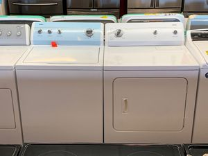 Kenmore 500 series washer and dryer set 1 year warranty for Sale in Saint Pete Beach, FL