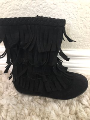 Girls Fringe Boots size 9 for Sale in Vista, CA